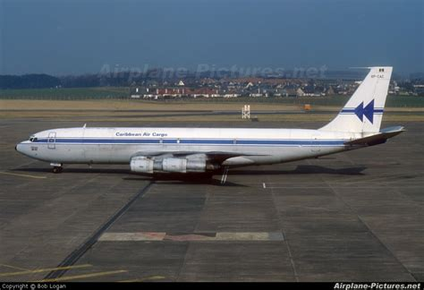 8p cac caribbean air cargo boeing 707 300 at prestwick photo id 41714 airplane pictures net