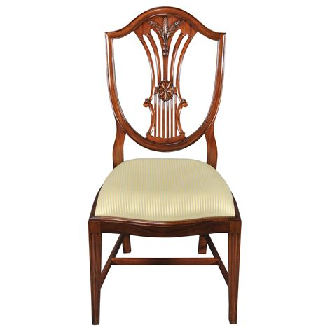 shield back dining side chair niagara furniture solid