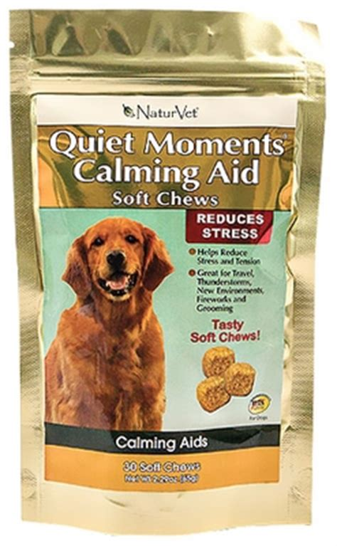 calming aid for dogs naturvet moments calming aid for dogs 30 soft chews
