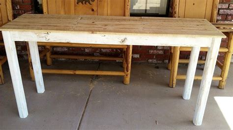 pallet entryway table instructions easy pallet ideas