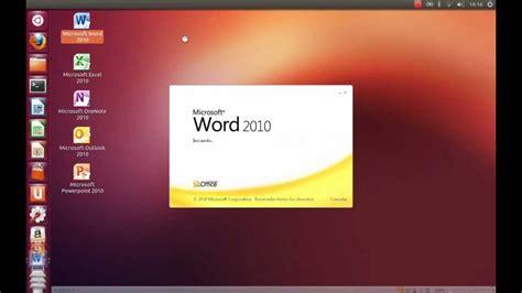 Microsoft Office 4 Instalar Ms Office 2010 En Ubuntu 12 10