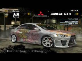 nfs most wanted new cars need for speed most wanted mod loader cars