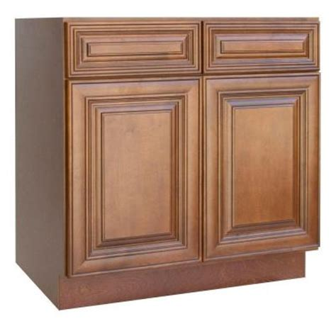 Kitchen Cabinets Doors Home Depot Lakewood Cabinets 30x34 5x24 In All Wood Base Kitchen Cabinet With Doors And