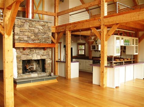 timber frame construction featuring framing styles