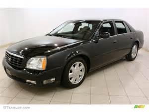 2004 Cadillac Dts Black 2004 Cadillac Dts Exterior Photo