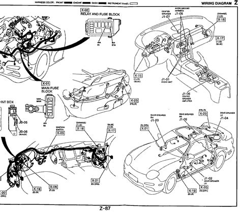 mazda rx 7 wiring schematic wiring diagrams