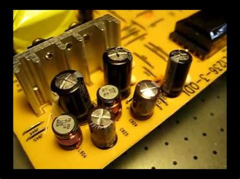 laptop screen capacitor capacitors fixing an lcd computer monitor