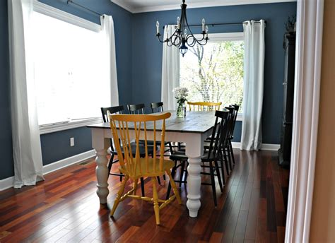 Formal Dining Room With Farmhouse Table Rustic Farmhouse Dining Table Decor And The