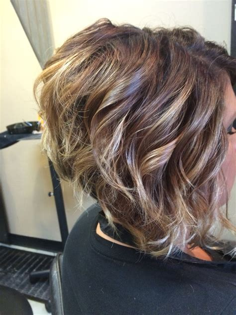 stacked hairstyles for natural waves ombre on short hair stacked bob haircut hair hair