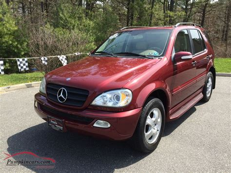 2002 Mercedes Ml320 by In New Jersey Nj Stock No