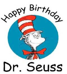 happy birthday dr seuss clipart