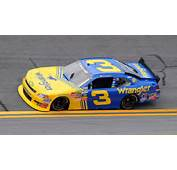 Dale Earnhardt Jr 3 Wrangler Tribute Car Photo DaleEarnhardtJr3jpg