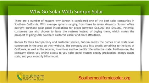 sunrun solar customer service sunrun solar customer reviews reducing energy cost with solar