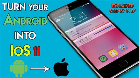 install android on iphone how to install ios 11 on android make your android phone look like iphone