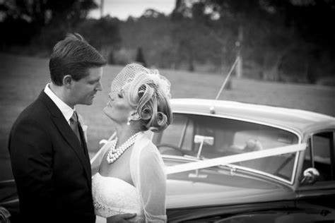 Vintage Wedding Hairstyles With Birdcage Veil by Retro Wedding Hairstyle Birdcage Veil