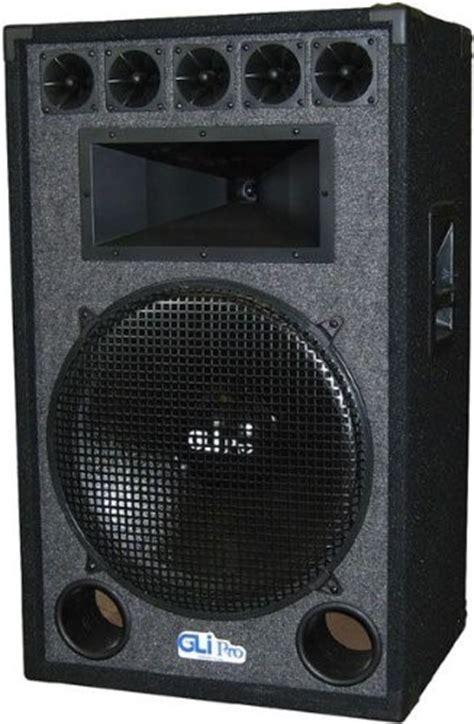 Lu Xl 18 Watt gli pro xl 1895 18 inch 1000 watt pa speaker system with 18 inch sub for bass jet
