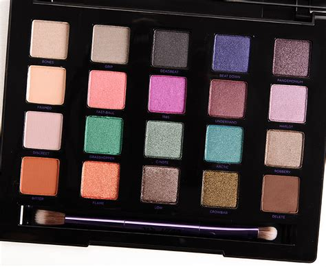 decay vice 4 eyeshadow palette review photos swatches