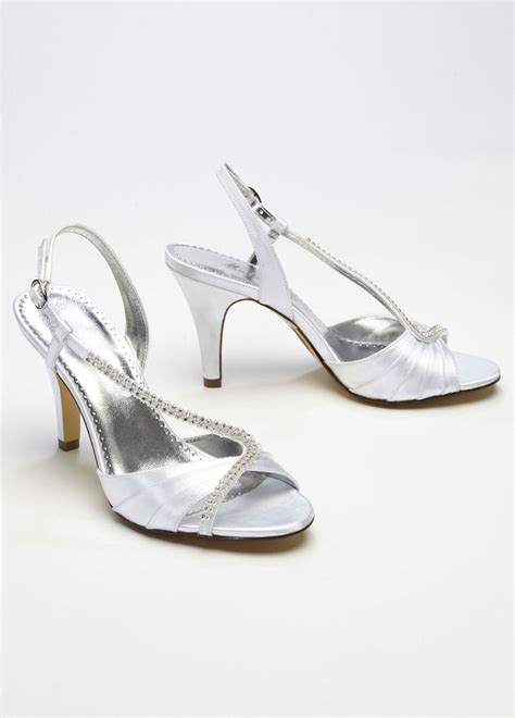 david s bridal wedding bridesmaid shoes dyeable