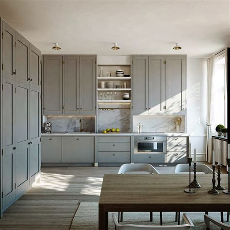 kitchen grey lamb blonde room love grey kitchens