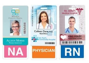 medical id card design id card group s medical staff id badge buddies help texas
