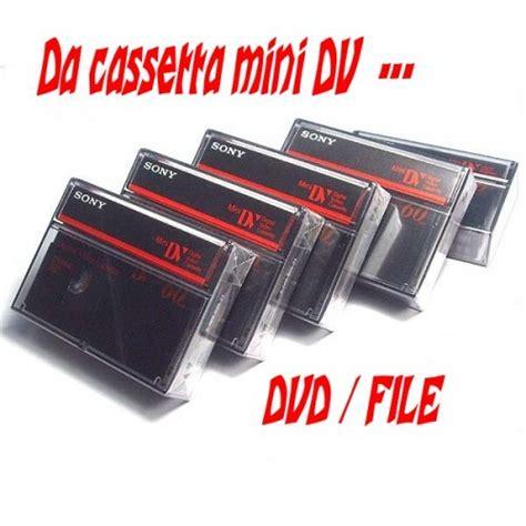 da cassetta a dvd da cassette di vecchie telecamere a dvd
