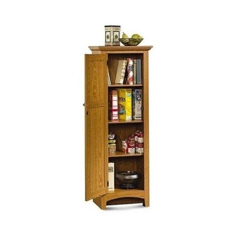 Free Standing Kitchen Storage Cabinets Kitchen Pantry Cabinet Storage Organizer Furniture Oak Wood Free Standing Ebay