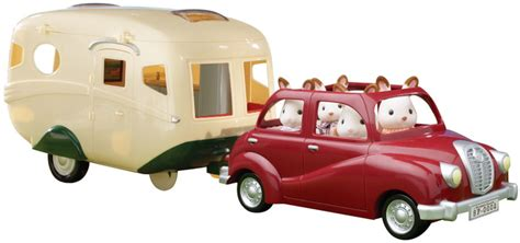 Luxury Kitchen Furniture caravan and family saloon car sylvanian families