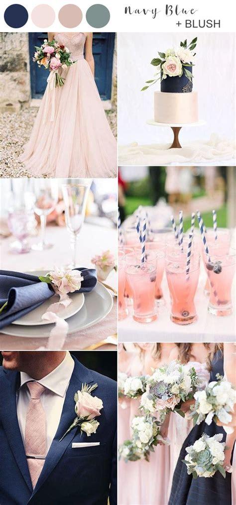navy blue wedding color ideas