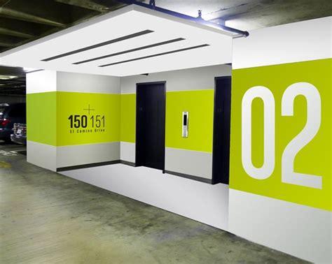 design art signs garage wayfinding signage design google search parking