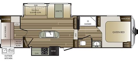 cougar fifth wheel floor plans 2016 keystone cougar 28dbi cing world of harrisburg