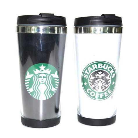 Termos Tumbler Starbucks Slim Stainless Color wholesale 450ml stainless steel wall starbucks travel coffee mugs insulation plastic