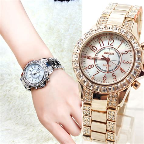 gold and watches with square and