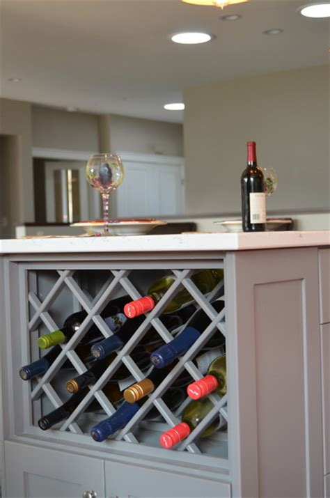 Built In Cabinet Wine Rack by Vanities Laundry Built In S Wine Rack Traditional