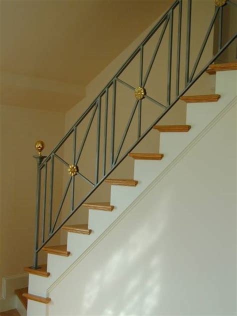 Stair Railings And Banisters Interior Designs Standfast Works Forge
