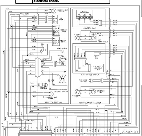 kitchenaid refrigerator wiring diagram on kitchenaid refrigerator kscs25inss01 the