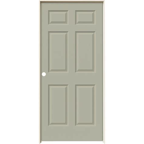 jeld wen 36 in x 80 in colonist white painted textured jeld wen 36 in x 80 in colonist desert sand painted