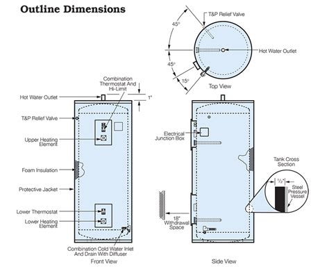 water heater wiring diagram dual element 40 wiring
