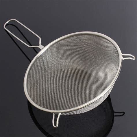 10 Stainless Steel Sieve by 6 8 10 Quot Stainless Steel Sieve Strainer Wire Mesh