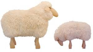trendspotting sheep stools home design style