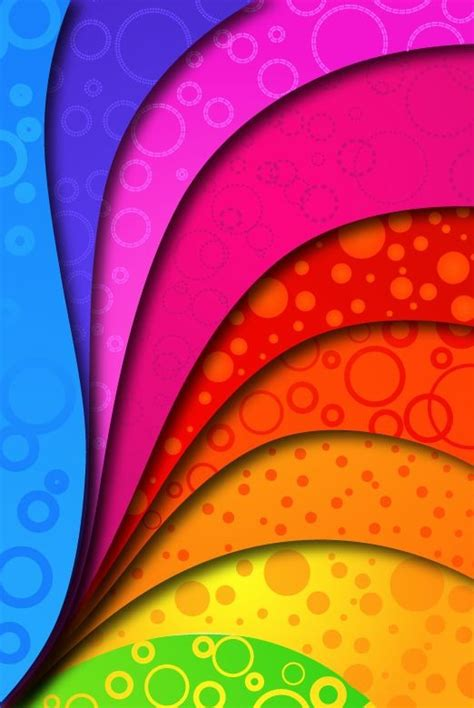 Colours Are Brighter by Rainbow Color Design Foto Gambar Wallpaper