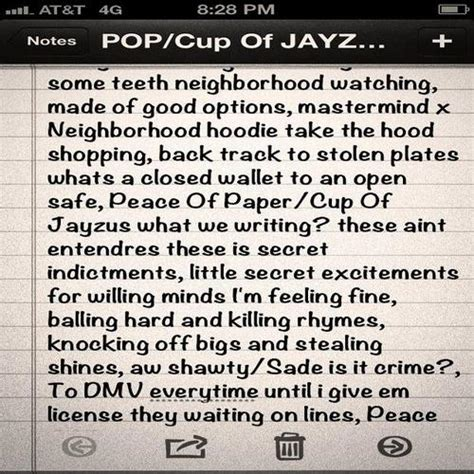 songs to write a paper on fiasco tweets new peace of paper cup of jayzus