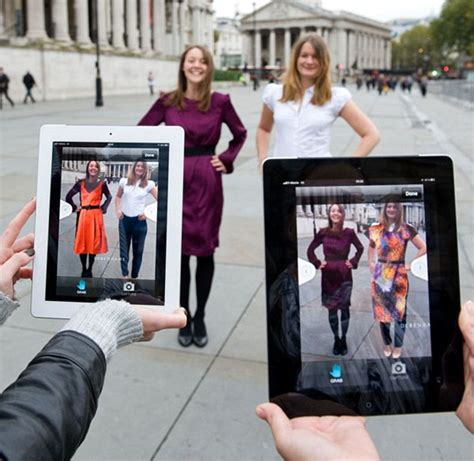 The Technology To Hit The Fitting Rooms Interactive Mirrors by Changing Rooms Hit The High Debenhams