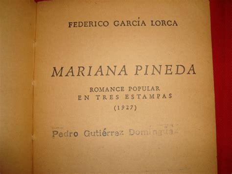libro mariana pineda romance popular centauros de la pantalla proceso a mariana pineda i parte