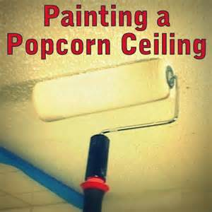 how to paint a popcorn ceiling hill general store summer project how to paint a