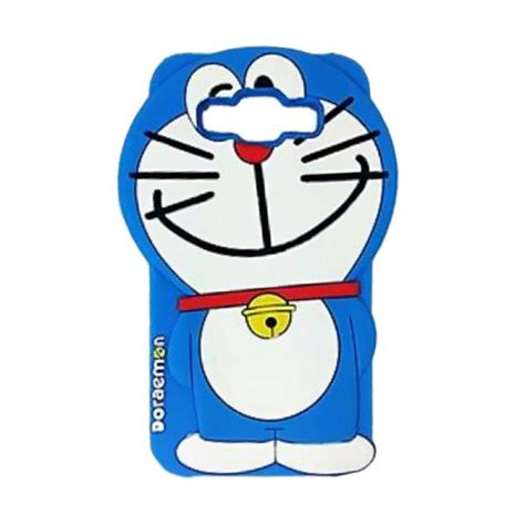 Doraemon Samsung J7 jual silicon kartun doraemon 3d softcase casing for
