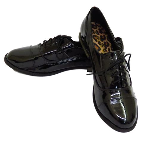 flat shoes with laces for patent flat black lace up oxford brogue work