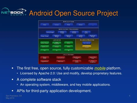 android open source project android in netbooks