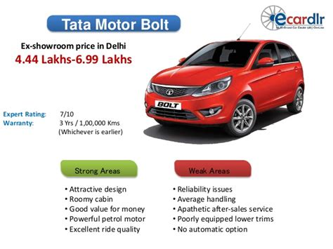 tata motors bolt review tata motors bolt prices mileage reviews and images at