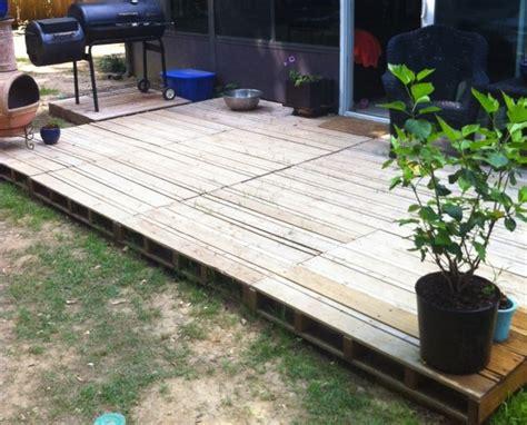 pallet wood deck plans pallet wood projects