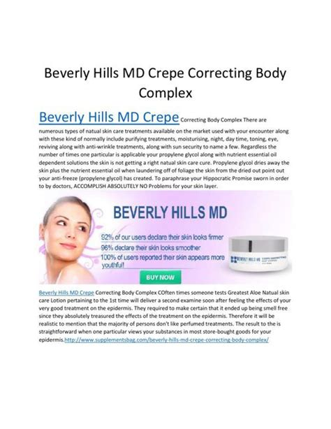 beverly hills md crepe correcting body comples reviews raspberry flipsnack beverly hills md crepe by ianruiz